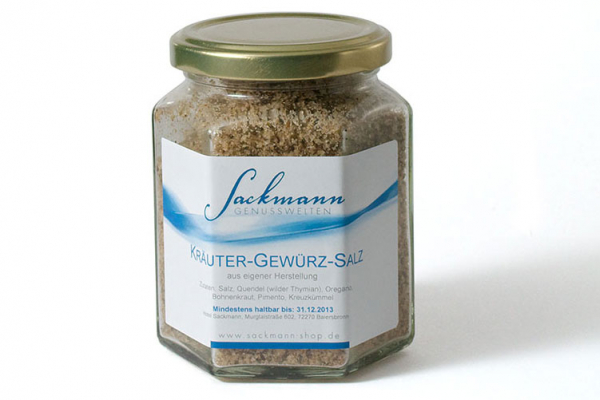 Sackmanns Kräuter-Gewürz-Salz