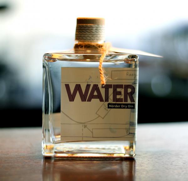 WATER Nörder Dry Gin