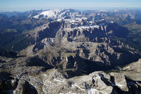 Beste Aussichten auf die Dolomiten